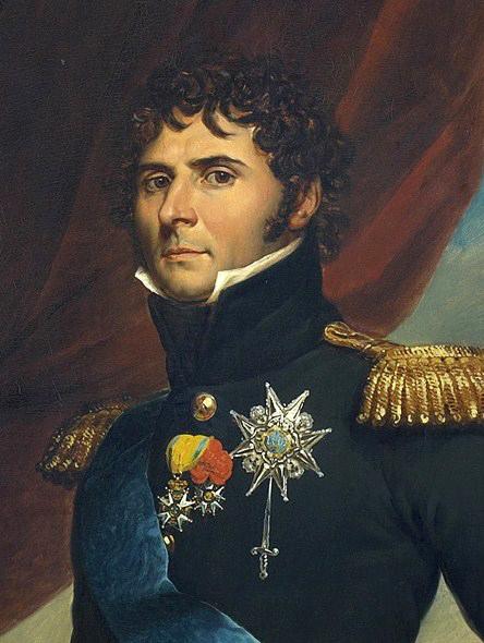 Francois Gerard (1770-1837): Karl XIV Johan som kronprins (1763-1844). Olja på duk, utförd 1811.